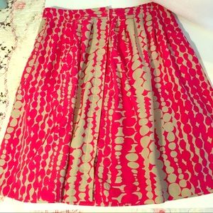 Harper and Gray poly pleated skirt